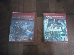 Uncharted 1 & 2, Greatest hits neuf