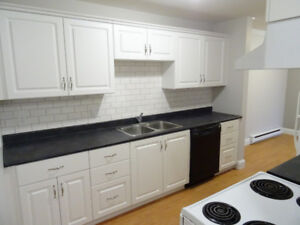 Spacious suites, new kitchens, in-suite laundry