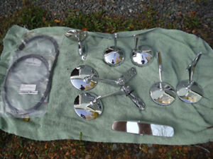 1947-59 Chev/ GMC 1/2 Truck  and Panel Parts,53-56 F100 Mirrors
