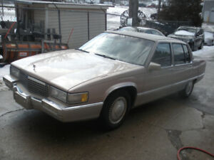 1990 CADILLAC FLEETWOOD Mint original condition