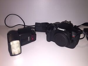 Canon T4i DSLR and lenses package