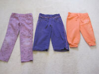 Spring pants, all size 4. Only $4 each or $10 for all!