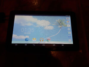 tablet 9 pcs  android  double coeur