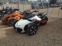 2015 Can-Am Spyder F3 S 6-Speed Semi-Automatic (SE6)