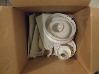 Ceiling Fan with Light - white