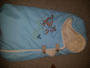 Warm baby suites and stroller/ carseat blankets