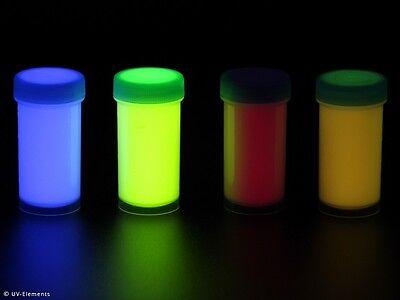 Unsichtbares Haargel Set 4 (4x50ml Farben: blau, grün, rot, gelb) - ...