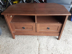 High End Wooden TV Stand with Storage