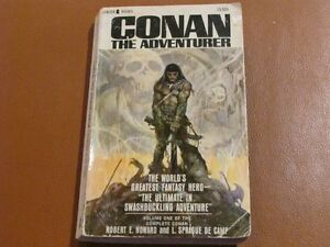 CONAN the Adventurer Robert E. Howard 1967 printing Lancer