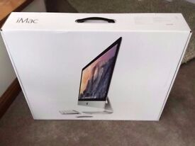 "New 27"" iMac, Retina 5K Display. Model: A1419, i5, 8GB RAM, 1TB + Magic Mouse & Keyboard + Software"