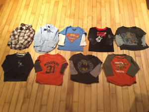 Boys 12-18 month long sleeve shirts