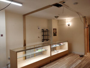 2 Display cabinets - ideal for jewellery store