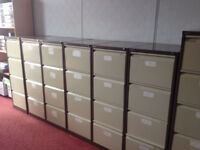 office furniture 4 draw coffee cream filing cabinets
