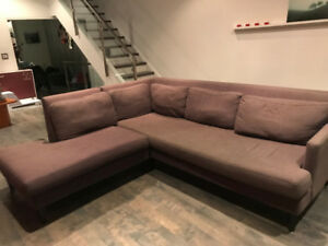 Comfy and Stylish Sectional