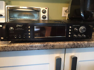 Pyle hybrid receiver and pre-amp