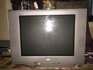 Sanyo tv with rca DVD player