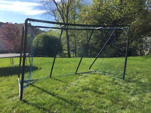 Soccer Net - 12' x 7', folding frame for storage