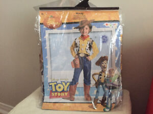 Toy Story Woody Costume - size small (ages 4-6) - Brand New!