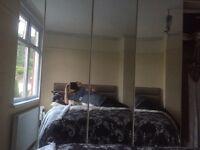 5 door mirrored wardrobes solid German make