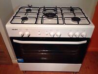 Bush gas range cooker *** new condition ***