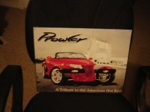 """METAL PICTURE OF PROWLER""""A TRIBUTE TO THE AMERICAN HOT ROD""""/COLL London Ontario image 1"""
