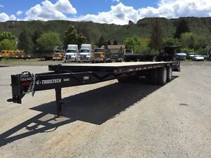 New Trailtech TD220-28' Equipment Trailers