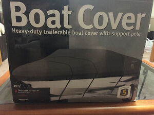 New in box 14-16 foot trailerable boat cover