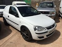 2006 Vauxhall Corsa Van 1.2 cdti 16v diesel px welcome 79k full history px welcome