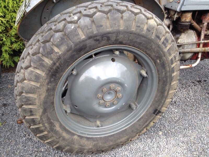 Ferguson Tractor Wheels With Grass Tyres In Oswestry