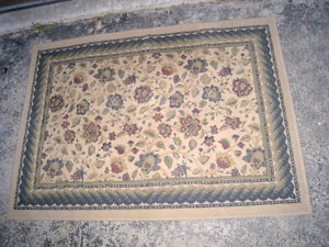 Medium size Area rug in excellent clean condition