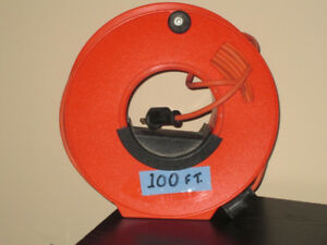 Outdoor Electrical Extension Cord and Wheel