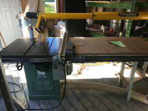 Tablesaw,bandsaw,dust collector