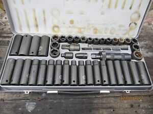 Mastercraft Maximum Impact Socket Set.