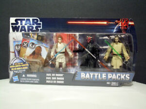 STAR WARS Action Figures - Duel on Naboo Battle Pack - NEW