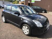 5707 Suzuki Swift GL 5DR 1.4 Black 5 Door 47525mls MOT 12m