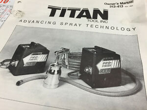 Titan Pro-Finish HVLP (Spray Gun and Compressor)