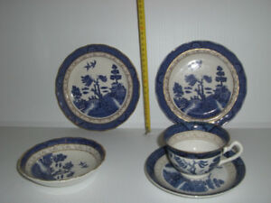 Royal Doulton 3small plates and Occupied Japan cup and soccer