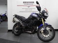 12 REG TRIUMPH TIGER 800 LOW MILES 1 PREVIOUS OWNER HEATED GRIPS GREAT CONDITION