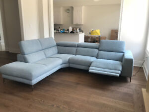 """NEW ** SECTIONAL RECLINER SOFA  - 109"""" x  88"""" **For PICK-UP"""