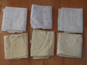 6 blankets for babies