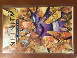 Infinity Free Comic Book Day Thanos 1st Black Order