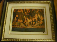 Professionally print\framed Tom Thomson limited print asking $85