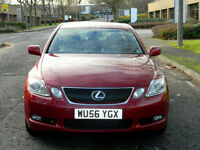 2007 56 Lexus GS 450H 3.5 CVT 4dr WITH FSH 10X STMPS+LOW MLS+TOP SPEC