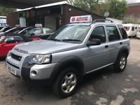 Land Rover Freelander TD4 Adventurer 2.0cc 2006/06 Diesel Manual Popular 4x4
