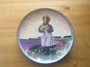 Anne of Green Gables Collector Plates.  Ben Stahl