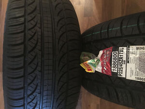2 brand new Pirelli PZERO NERO tires