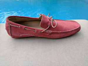 Mens Suede Loafers/Moccasins, made in Italy.