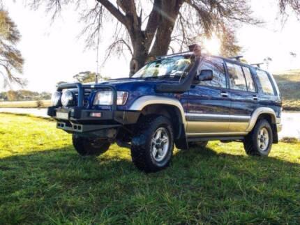 2002 Holden Jackaroo Wagon Turbo Diesel 7 SEATS Armidale 2350 Armidale City Preview