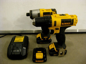 Dewalt 12v drill and impact driver