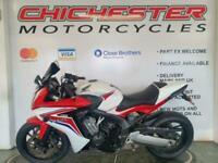 HONDA CBR 650F 2014 WHITE/RED A2